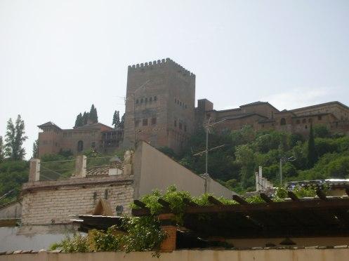 Vista dell'Alhambra dall'Albacin