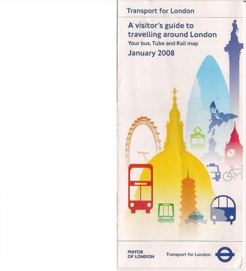 copertina tube map